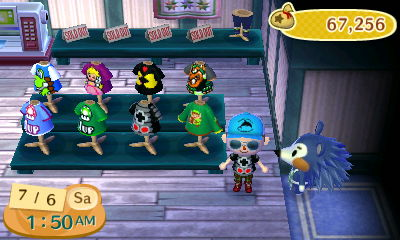 Shirt Designs I created on ACNL